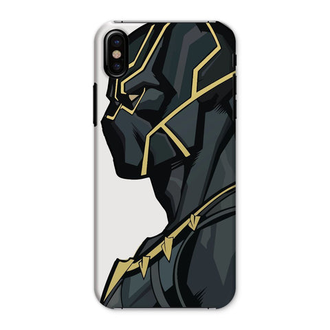 kite.ly Phone & Tablet Cases iPhone X / Snap / Gloss Black Panther By Hassan Sheikh Phone Case