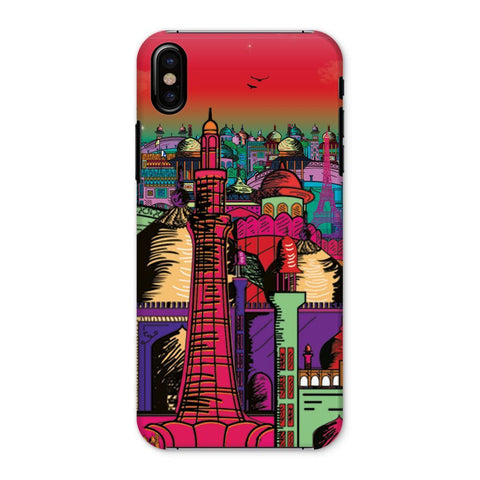 kite.ly Phone & Tablet Cases iPhone X / Snap / Gloss Lahore on Drugs Phone Case