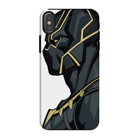 kite.ly Phone & Tablet Cases iPhone X / Tough / Gloss Black Panther By Hassan Sheikh Phone Case