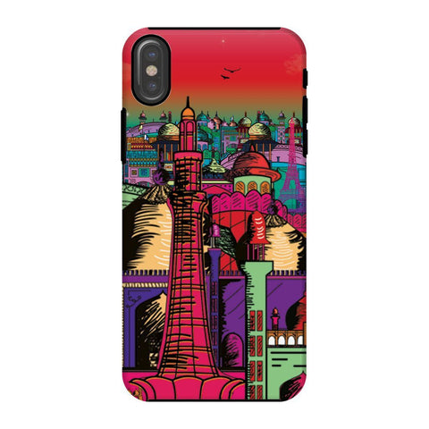 kite.ly Phone & Tablet Cases iPhone X / Tough / Gloss Lahore on Drugs Phone Case