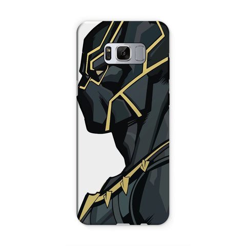 kite.ly Phone & Tablet Cases Samsung S8 / Tough / Gloss Black Panther By Hassan Sheikh Phone Case
