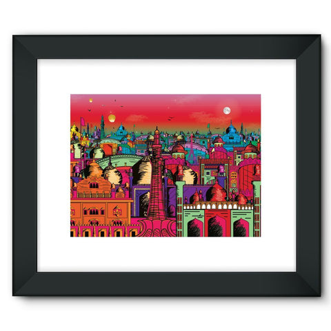 "kite.ly Wall Decor 16""x12"" / Black Lahore on Drugs Framed Fine Art Print"