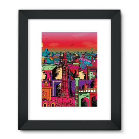 "kite.ly Wall Decor 24""x32"" / Black Lahore on Drugs Framed Fine Art Print"