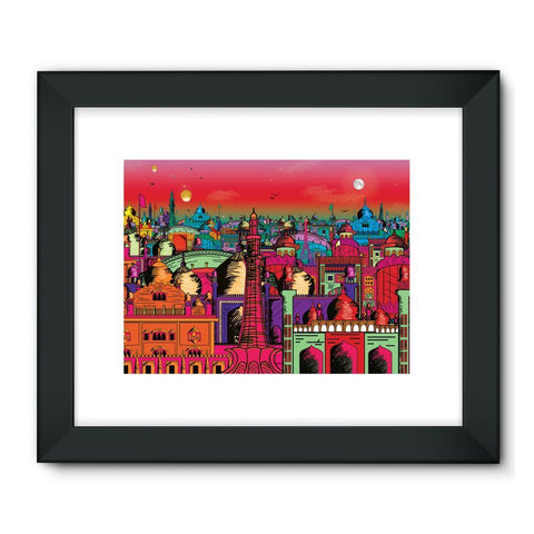"kite.ly Wall Decor 32""x24"" / Black Lahore on Drugs Framed Fine Art Print"