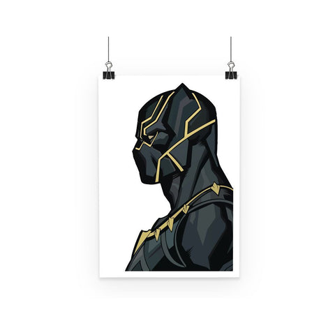 kite.ly Wall Decor A1 Black Panther By Hassan Sheikh Poster