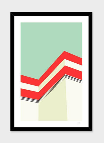 LUVD Framed Art Prints Architecture  Frame