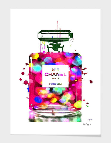 LUVD Framed Art Prints Chanel Parfum  Frame