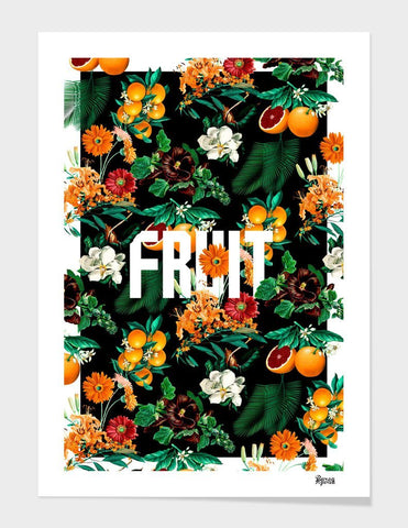 LUVD Framed Art Prints Fruit Frame