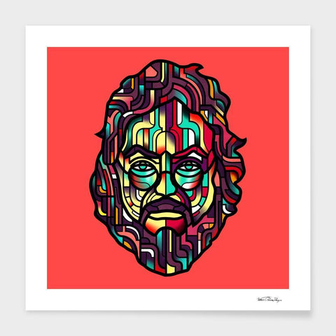 LUVD Framed Art Prints Kubrick  Frame