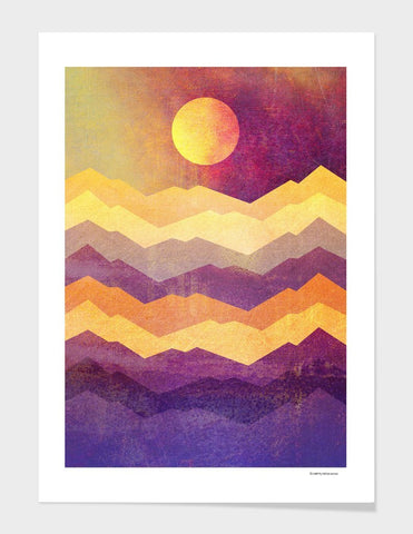 LUVD Framed Art Prints Magic Hour   Frame