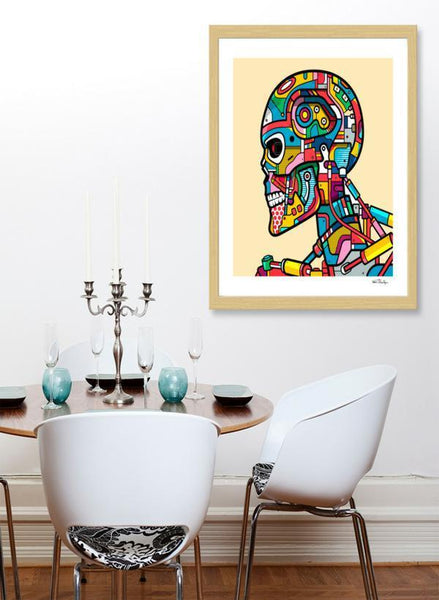 LUVD Framed Art Prints T-800 Frame