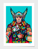 LUVD Framed Art Prints Thor  Frame