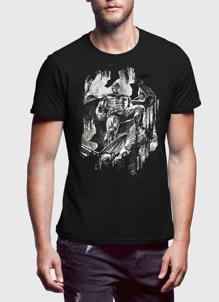 M Nadal Khan T-Shirt Batman Black T-shirt