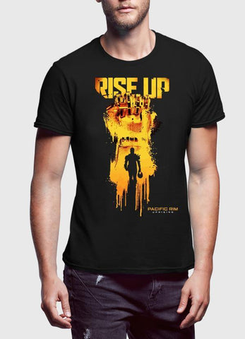 M Nadal Khan T-SHIRT Rise Up Black T-shirt