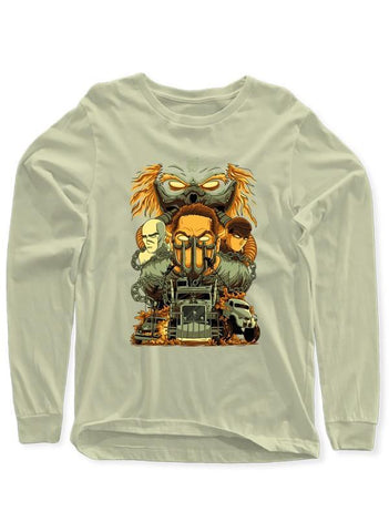 M Nidal Khan T-shirt MadMax Full Sleeves T-shirt