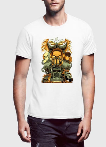 M Nidal Khan T-shirt MadMax Half Sleeves T-shirt
