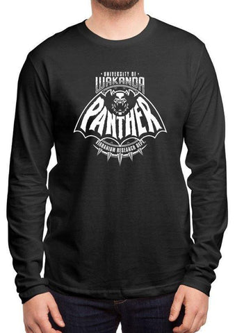 M Nidal Khan T-shirt Panther Full Sleeves Black T-shirt