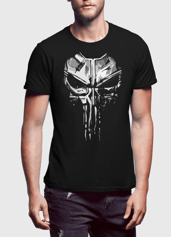M Nidal Khan T-SHIRT Punisher Black T-shirt