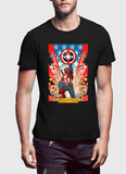M Nidal Khan T-Shirt Small / Black Dead Cap Gray T-Shirt
