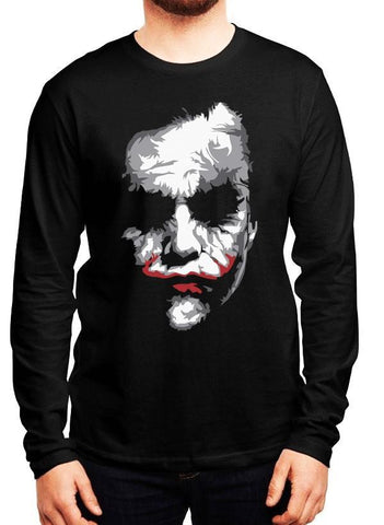 M Nidal Khan T-shirt SMALL / Black Heath Joker Full Sleeves T-shirt