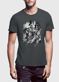 M Nidal Khan T-Shirt Small / Charcoal Batman Black T-shirt