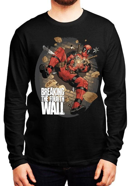 M Nidal Khan T-shirt SMALL Deadpool Spider Full Sleeves T-shirt