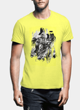 M Nidal Khan T-Shirt Small / Yellow Batman Black T-shirt