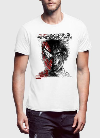 M Nidal Khan T-shirt Spider Man Half Sleeves T-shirt