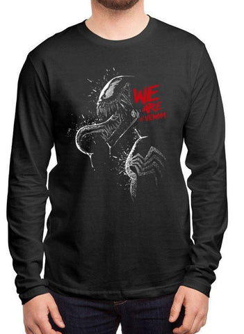 M Nidal Khan T-shirt We are Venom Full Sleeves T-shirt