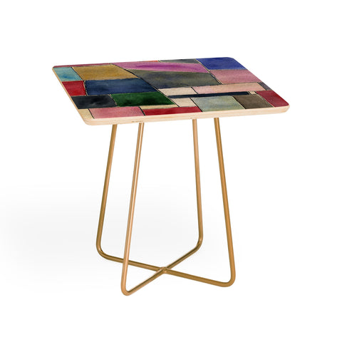 Maham Ali Side Table PATCH WORK SIDE TABLE