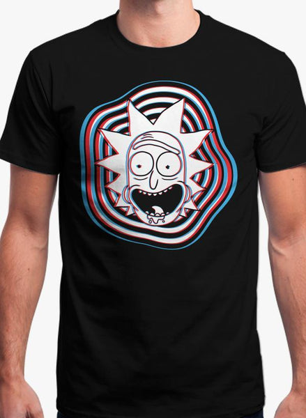 Maham T-SHIRT GLITCH - RICK AND MORTY T-shirt