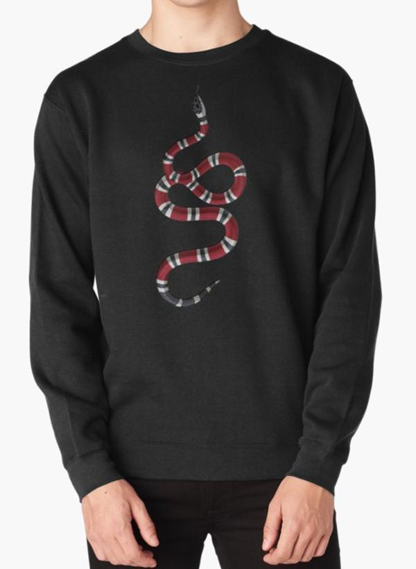 91455de8c29 Manahil Sweat Shirt Gucci Snake Sweat Shirt