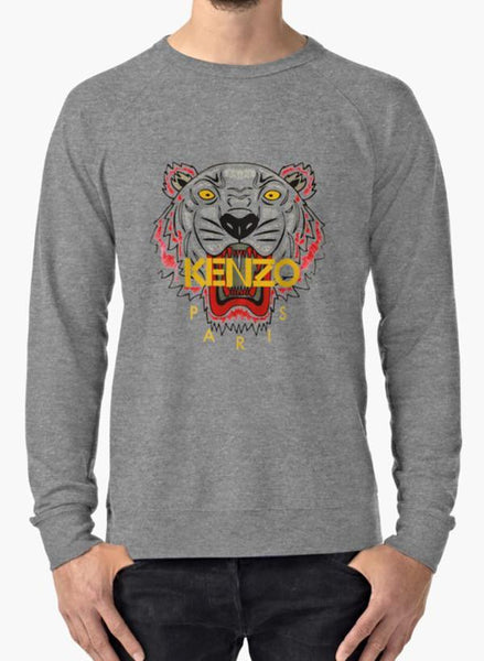 Manahil Sweat Shirt Kenzo Charcoal Sweat Shirt
