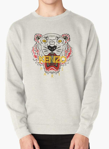 Manahil Sweat Shirt Kenzo Gray Sweat Shirt