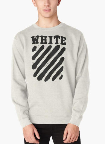 Manahil Sweat Shirt Off White White Edition Sweat Shirt