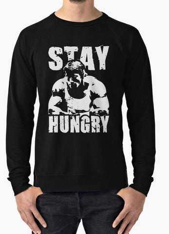 Manahil Sweat Shirt STAY HUNGRY Sweat Shirt
