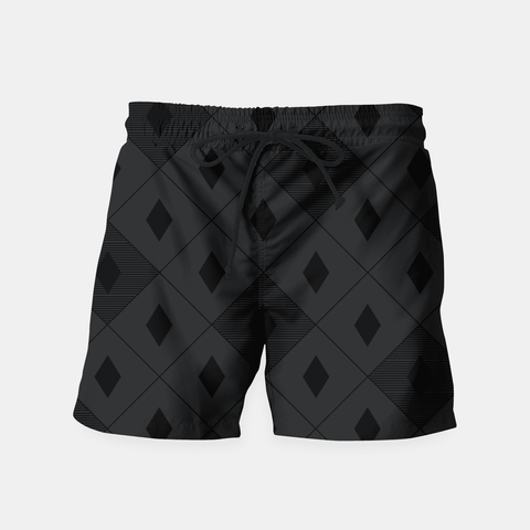 Maria Shorts Harlequins - Midnight Black Swim Shorts