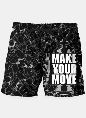 Maria Shorts Make Your Move Chess Shorts