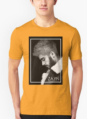 Mehreen Syed T-SHIRT Zayn Malik band Yellow T-shirt
