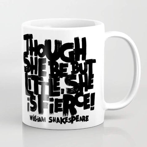 Mugs Mug LITTLE FIERCE Mug