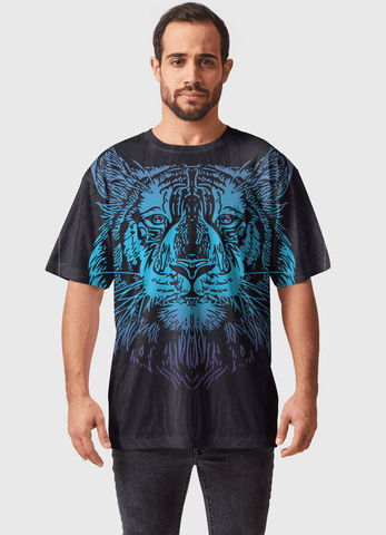 Naheed T-SHIRT LION KING  ALL OVER PRINTED MEN T-SHIRTS