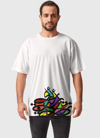Naheed T-SHIRT M RAMZ ALL OVER PRINTED MEN T-SHIRTS