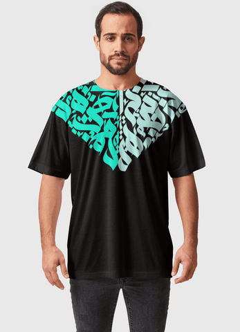 Naheed T-SHIRT SPARK MARK  ALL OVER PRINTED MEN T-SHIRTS