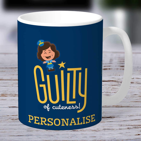 Personalized Mug Personalized Toy Story 4 Personalised Guilty Of Cuteness Ceramic Mug