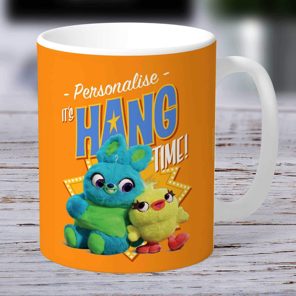 Personalized Mug Personalized Toy Story 4 Personalised It's Hang Time Ceramic Mug