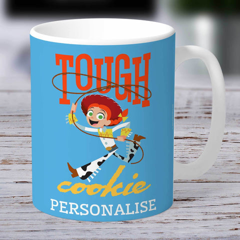 Personalized Mug Personalized Toy Story 4 Personalised Tough Cookie Ceramic Mug