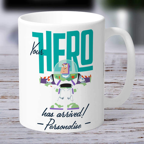 Personalized Mug Personalized Toy Story 4 Personalised Your Hero Has Arrived Ceramic Mug