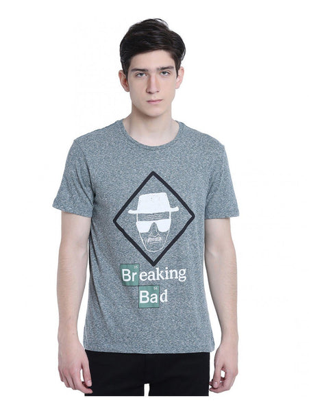 Ramsha T-SHIRT Breaking Bad Say My Name Green Half Sleeve Men T-Shirt