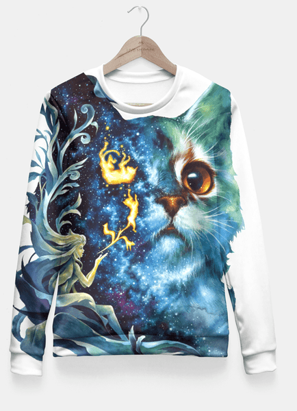 Sadaf Hamid Sweat Shirt cat .4 Fitted Waist Sweater