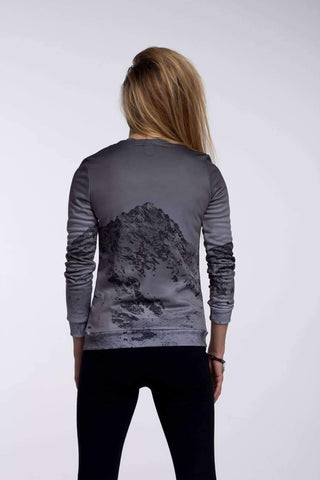 Sadaf Hamid Sweat Shirt Hot Lips I Taillierte Fitted Waist Sweater Women